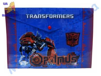 Папка-конверт с застежкой Трансформеры