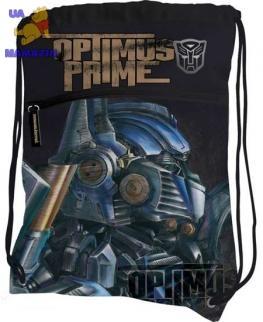 Сумка-рюкзак для обуви с доп. карманом Optimus Prime