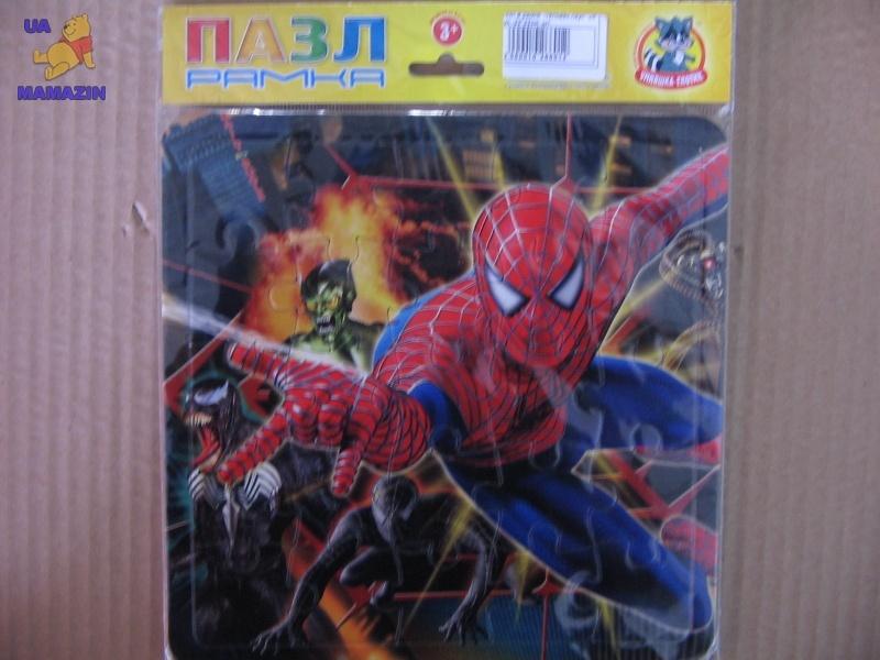 """Пазл в рамке №06 """"Человек паук"""""""