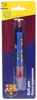 Ручка шариковая синяя Бapceлoнa