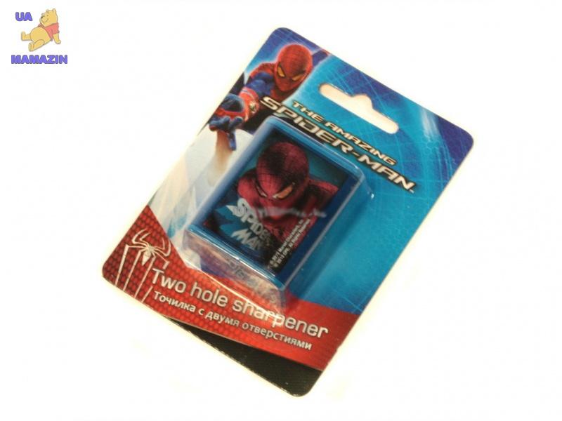 """Точилка с 2- мя отверстиями """"Spider-man"""""""