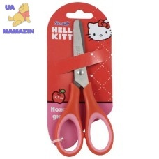 Ножницы детские с резиновыми вставками, 13см Hello Kitty