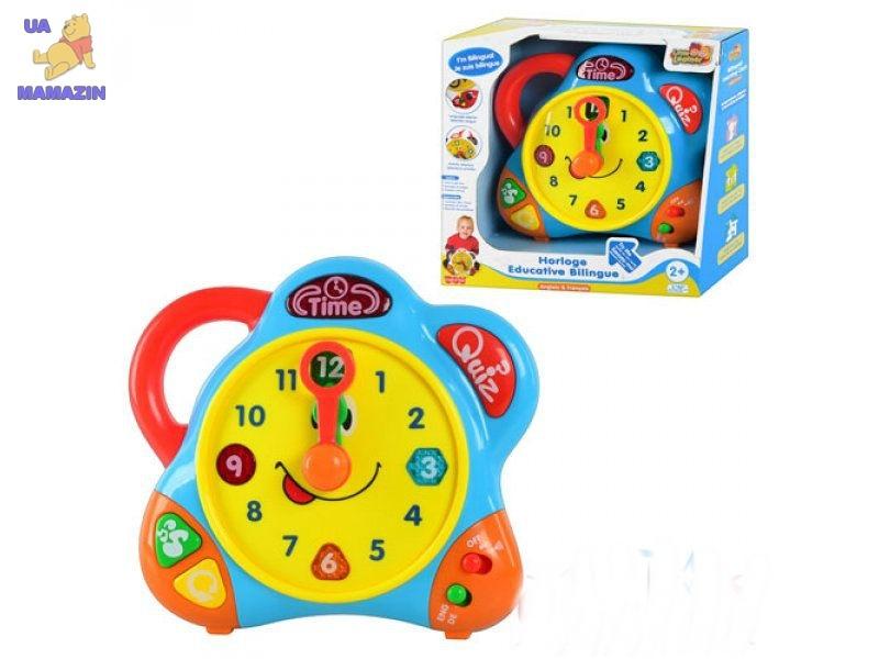 Музыкальные часы PINK (голубые)