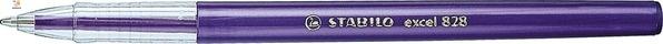 Ручка шариковая STABILO EXCEL, фиолетовая