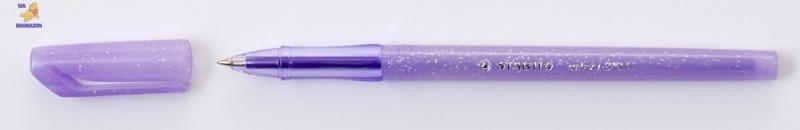 Ручка шариковая STABILO GALAXY, фиолетовая