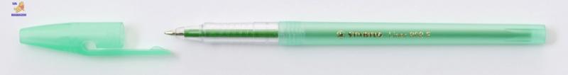 Ручка шариковая STABILO LINER , зеленая