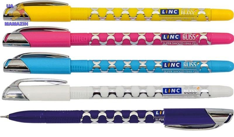 "Ручка шар/масл ""Gliss"" синяя 0,7 мм ""LINC"""