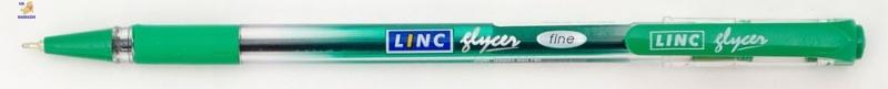 """Ручка шар/масл """"Glyser"""" зеленая 0,7 мм """"LINC"""""""
