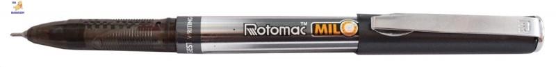 "Ручка шар/масл ""MILOMETER"" (10 км) черная 0,6 мм ""ROTOMAC"""
