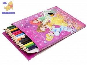 Карандаши цветные Princess 36 цветов