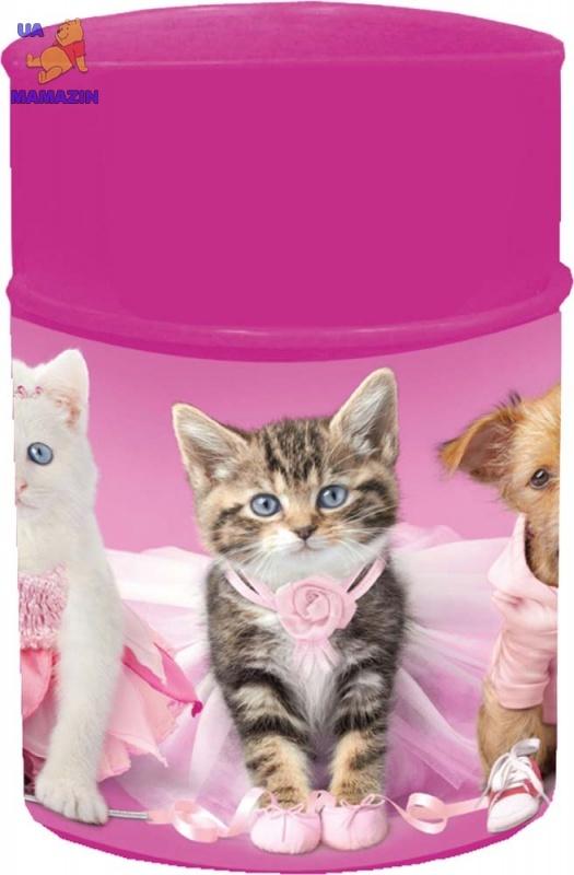 """Стакан канцелярский  """"PETS"""", розовый"""