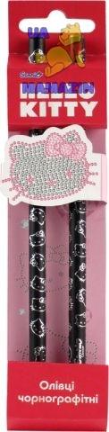 Карандаши графитный с кристаллом, 2шт. Hello Kitty