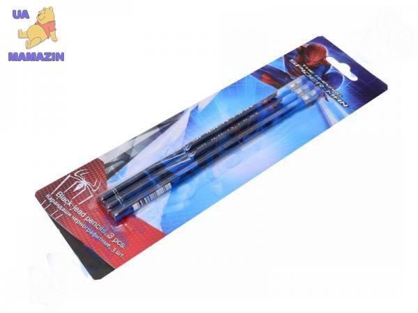 Карандаши ч/г BB, шестигранные с ластиком, 3 шт.