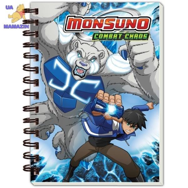 Блокнот  А6 Monsuno
