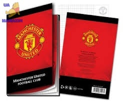 Блокнот А5- Manchester Unite