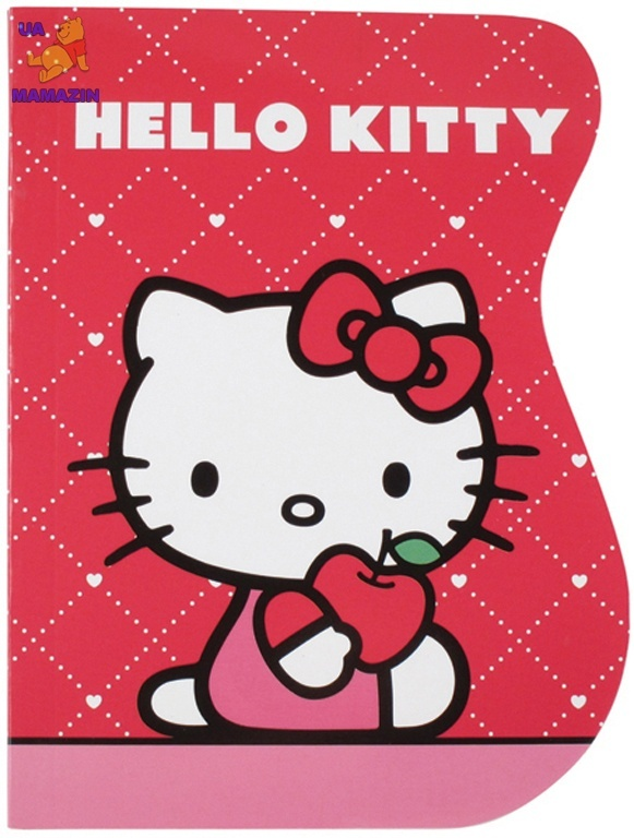 Блокнот вырубка Hello Kitty