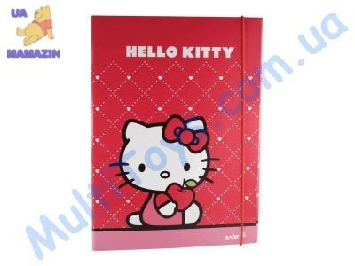 Папка на резинке  А4 Hello Kitty