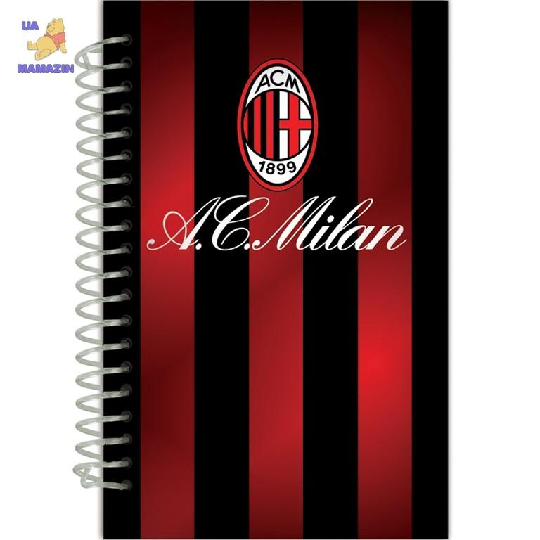 Блокнот спираль Milan