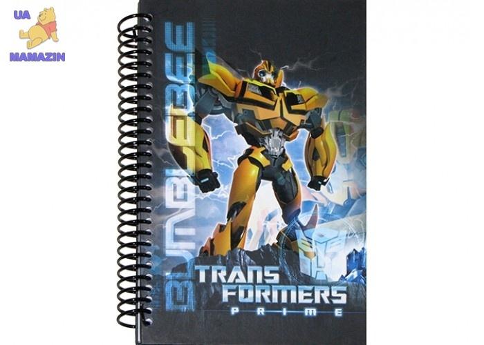 Блокнот спираль Transformers