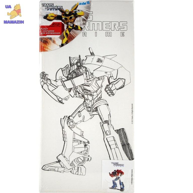 Холст с контуром 15х30 см Transformers