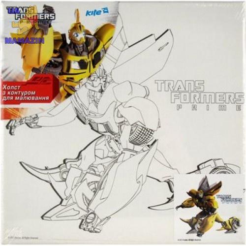 Холст с контуром 25х25 см Transformers-2