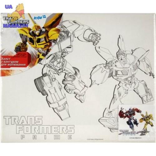 Холст с контуром 25х30см Transformers