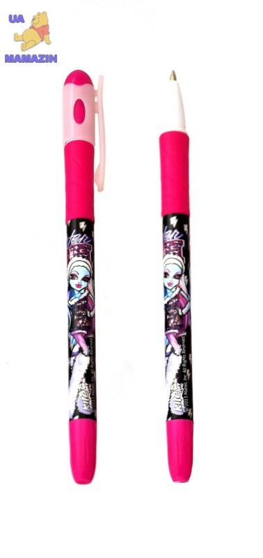 Ручка шариковая, синяя Monster High
