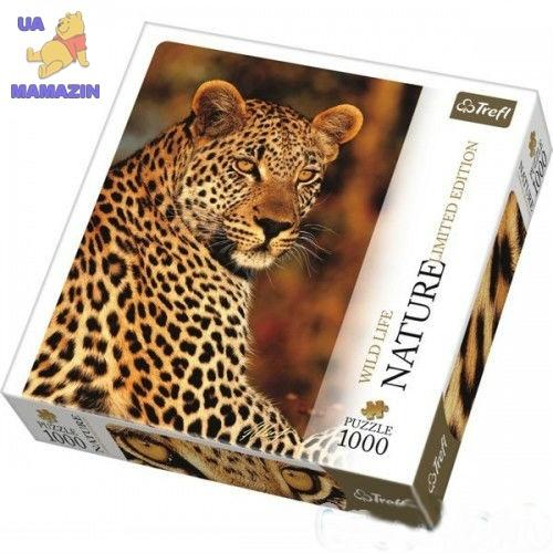 Пазлы Trefl, Леопард, 1000 дет.