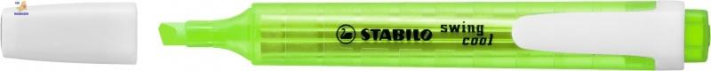Маркер текстовый STABILO swing cool зеленый 275/33