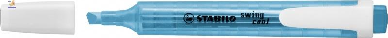 Маркер текстовый STABILO swing cool синий  275/31