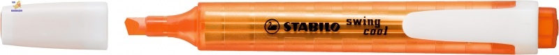 Маркер текстовый STABILO swing cool оранжевый 275/54