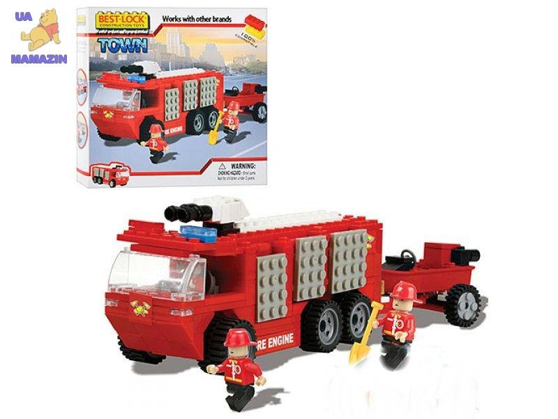 Конструктор Бест-лок пожарная машина