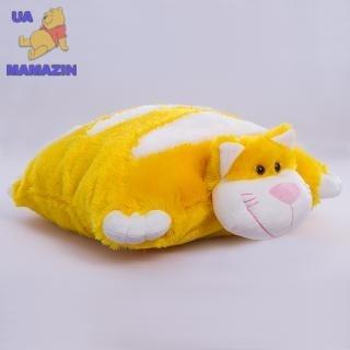 Подушка-складушка котик ТМ Копиця
