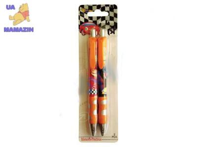 """Шариковые ручки оранжевые """"Тачки"""" 2 шт"""