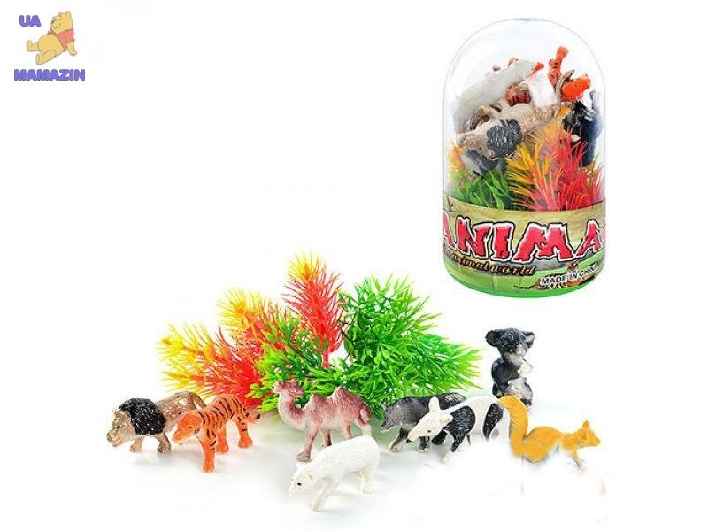Животные дикие в колбе