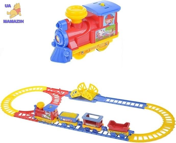 Механическая железная дорога Joy Toy