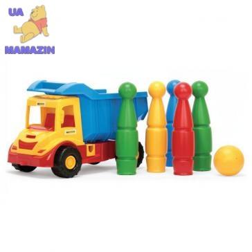 """Грузовик с кеглями """"Multi truck"""" ТМ Тигрес"""