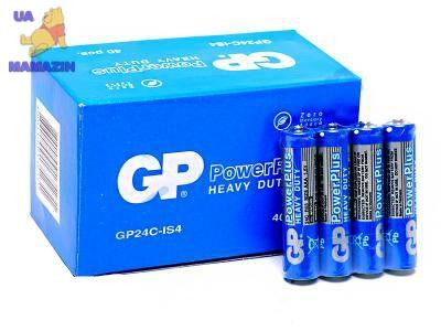 Батарейки GP ААА по 40 штук