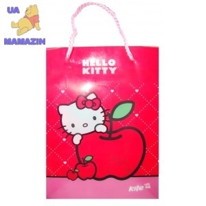 Пакет пластиковый подарочный Hello Kitty