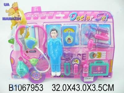 Набор доктора с куклой