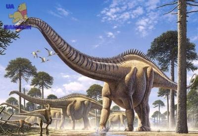 "Castorland: пазлы ""Динозавры"" 1000эл."