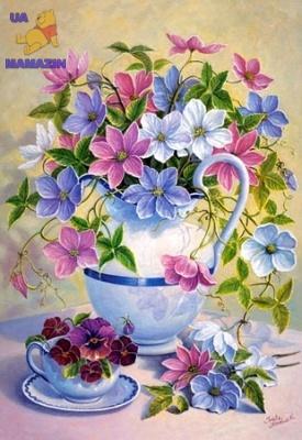 "Castorland: пазлы ""Весенние цветы"" 1500эл."