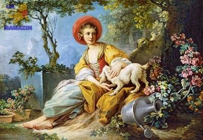 """Castorland: пазлы """"Пастушка"""" 1500эл."""