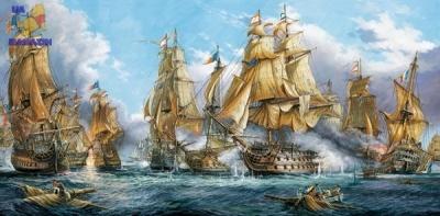 "Castorland: пазл ""Морская баталия"", 4000 эл."