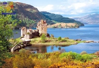 """Castorland: пазл Замок """"Eilean Donan"""", Шотландия 2000 эл."""