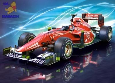Пазлы Формула 1