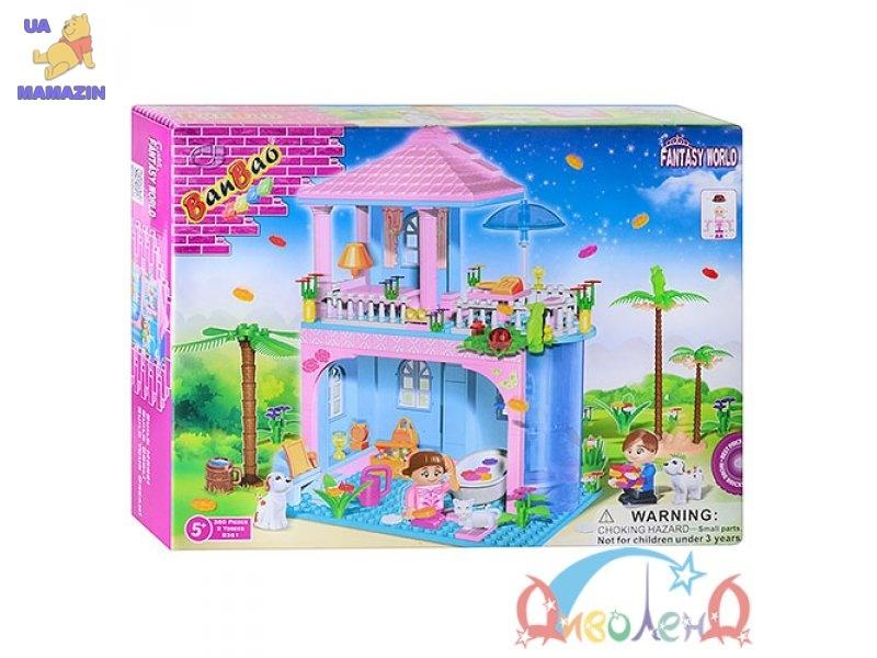 Конструктор BANBAO Загородный домик