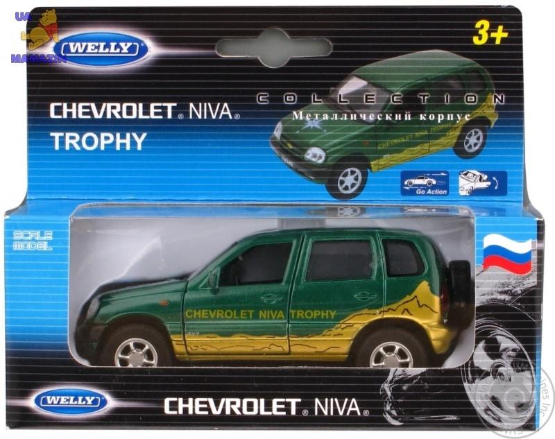 Коллекционная машинка CHEVROLET NIVA TROPHY