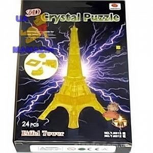 "Пазлы 3D- кристалл ""Эйфелева башня"""