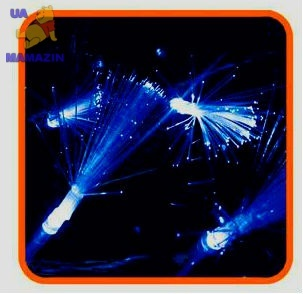 Гирлянда-LED 100 кисточки 5m синяя